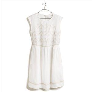 Madewell Linen Sandwave Dress